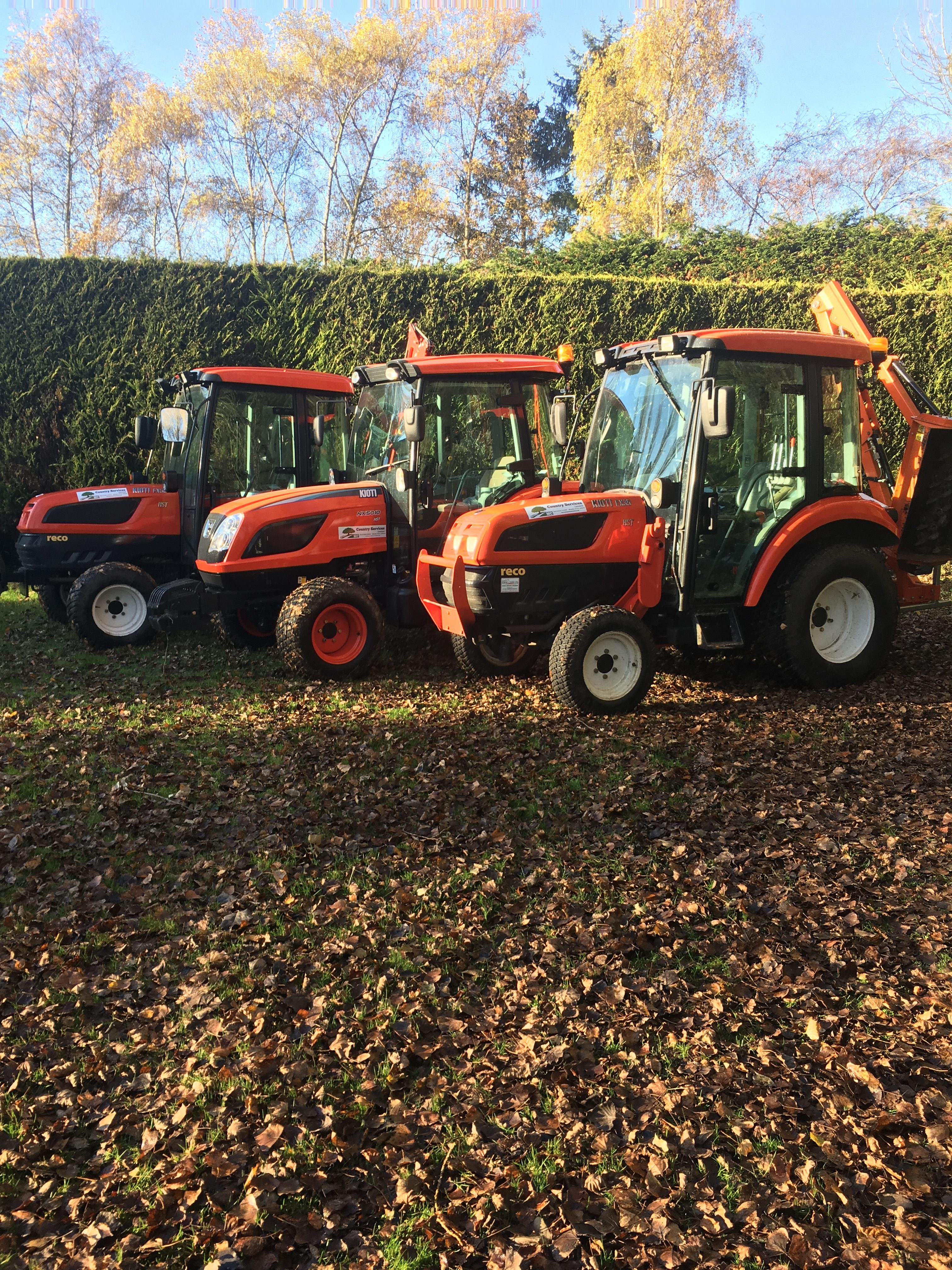 Tractors & Equipment at MC Country Services